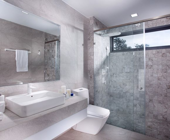 The essential checklist for selecting bathroom tiles
